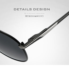 Classic Polarized Pilot Sunglasses