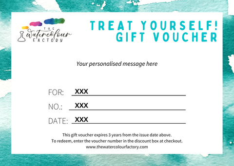Personalised Digital Gift Voucher