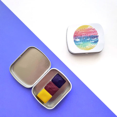 Primary Palette half-pan tin set (3 colours)