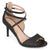 Womens Open-toe Glitter Strappy Heels