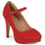 Brinley Co. Womens Platform Mary Jane Pumps