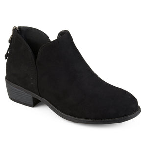 Womens Tassel Faux Suede Comfort Sole Booties