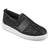Womens Glitter Ribbon Slip-on Sneakers