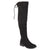 Womens Faux Suede Over-the-knee Boots