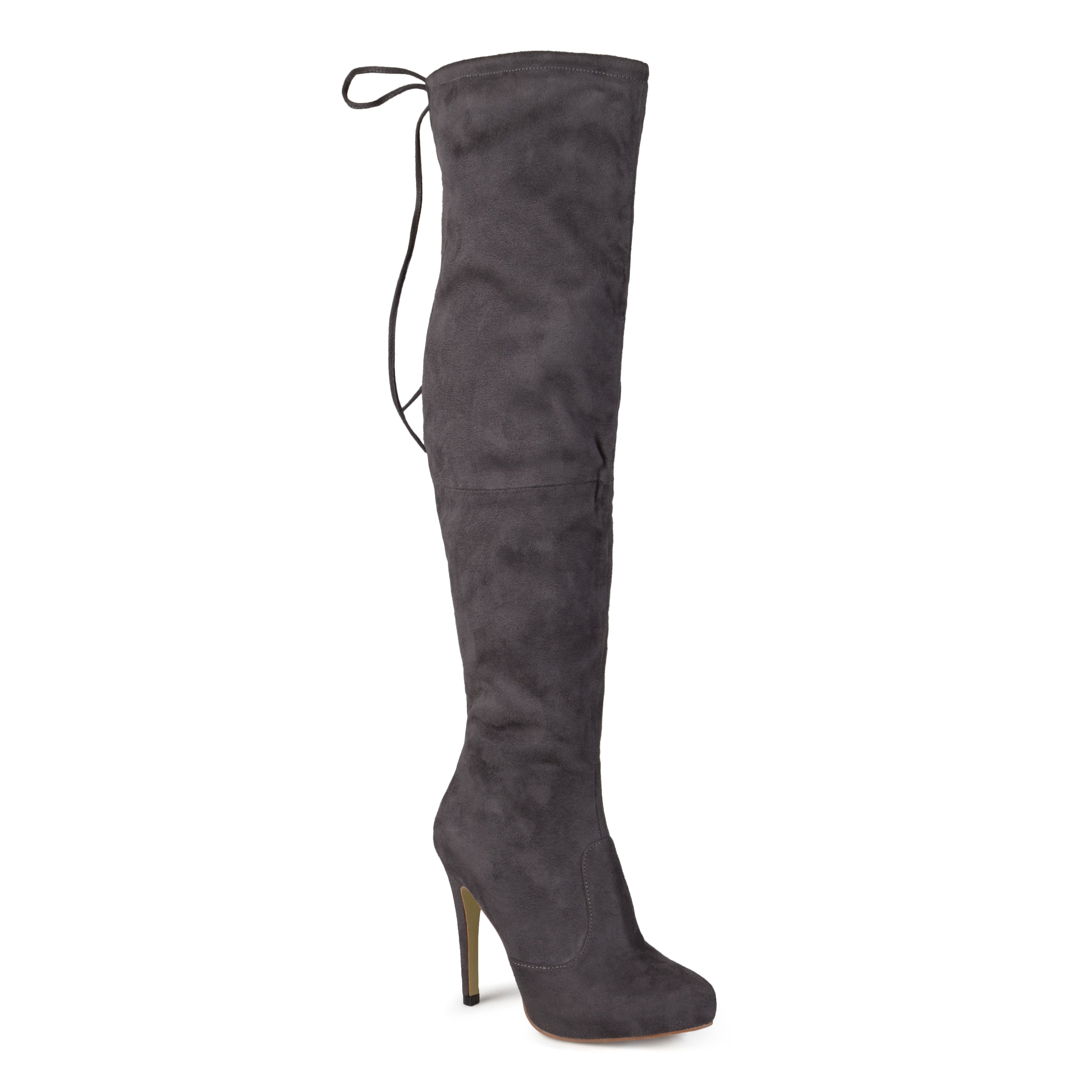 9303ae401fe Womens Wide Calf High Heel Over-the-knee Boots