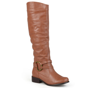 Womens Regular and Wide-Calf Knee-High Riding Boot
