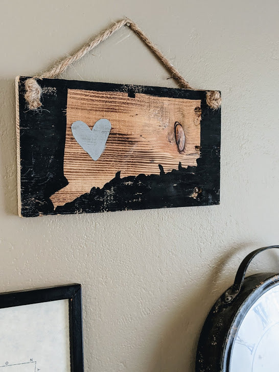 My Heart Is In CT Sign