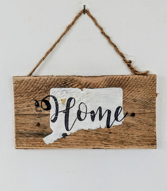 Connecticut Home Sign