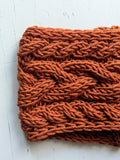 The Magnolia Headband in Orange