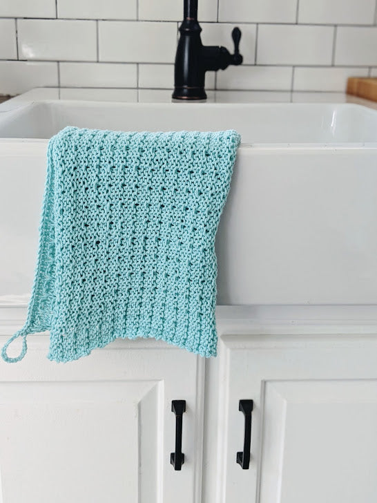 Tea Towel in Teal