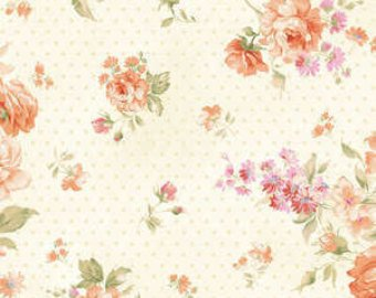 Ellie Ann cotton fabric by Benartex  1227-27 Mango Roses