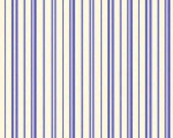 Ellie Ann cotton fabric by Benartex  1231-55 Periwinkle Stripe