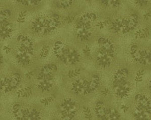 Ellie Ann cotton fabric by Benartex  1233-44 Rose Moss