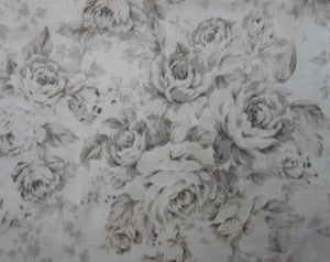 Kilala Antique Roses 201205-11F cotton Fabric Taupe Roses