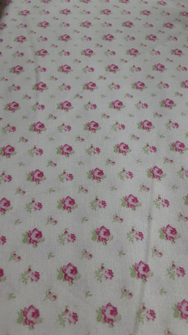 Sausalito Cottage  cotton fabric by Lakehouse Dry  lh13065pink
