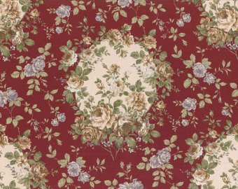 Josephine Rose cotton fabric by Lecien 30880-30