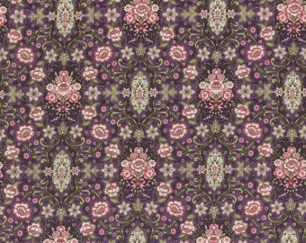 Josephine Rose cotton fabric by Lecien 30883-110