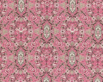 Josephine Rose cotton fabric by Lecien 30883-20