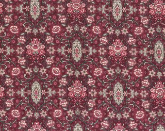 Josephine Rose cotton fabric by Lecien 30883-30
