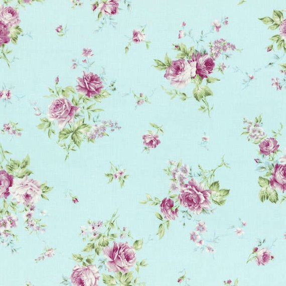 Rococo and Sweet fabric by Lecien 31138-70