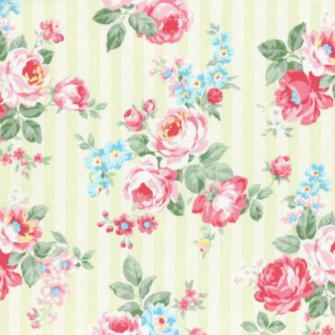 Princess Rose fabric by Lecien 31262-60