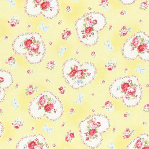 Princess Rose fabric by Lecien 31266-60