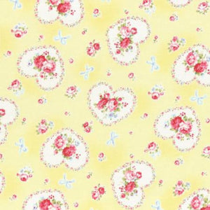 Princess Rose fabric by Lecien 31266-50