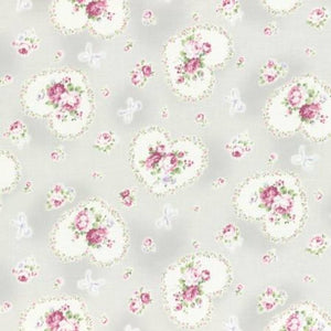Princess Rose fabric by Lecien 31266-90