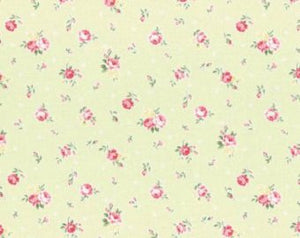Princess Rose fabric by Lecien 31267-60