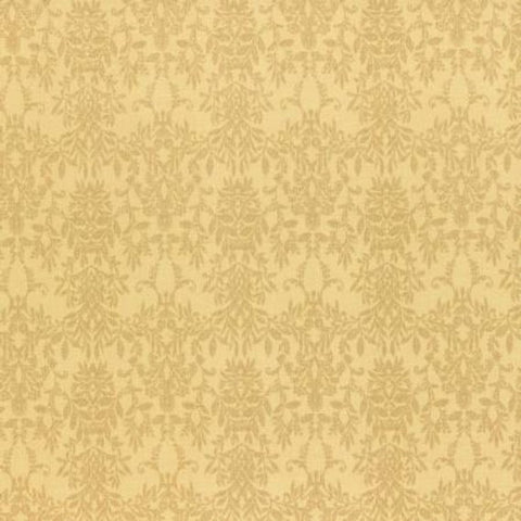 Rococo and Sweet fabric by Lecien 31364-50 Yellow