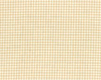 Durham cotton fabric by Lecien 31475-11 Yellow Gingham