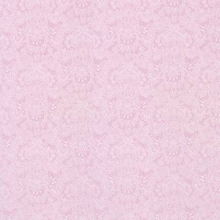 Baby Pink Lace Floral  Rococo & Sweet cotton fabric by Lecien 31864-20