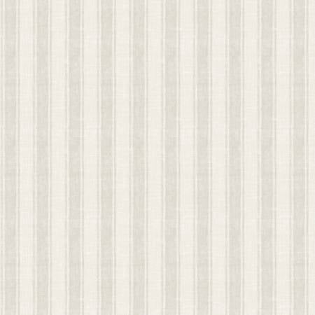 Coastal Wishes By Susan Winget Cotton Fabric Stripes on Cream 39625-221