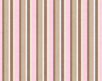 Outback  cotton fabric by Henry Glass Pink Stripe 6197-22