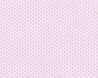 Christine Violet Dimily Dot by Eleanor Burns for Benartex Cotton Fabric 710-66