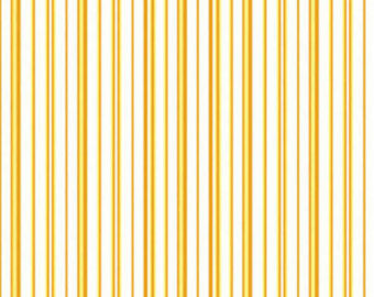 Zoey Christine cotton fabric by Benartex 715-33 Golden Yellow Stripe