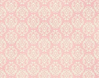Love Rose Love cotton fabric by Quilt Gate Ru2300-17B Pink