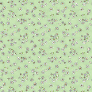 Light Olive Daisies  Daisy Daisy  Cotton Fabric by Clothworks Y2656-23