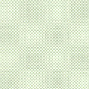 Light Olive Plaid Daisy Daisy  Cotton Fabric by Clothworks Y2656-23