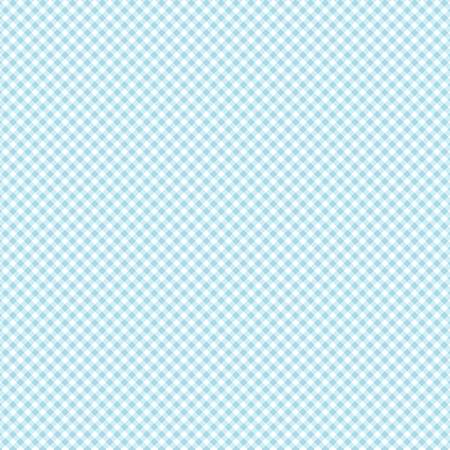 Light Sky Plaid Daisy Daisy  Cotton Fabric by Clothworks Y2656-97