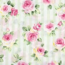 Roses and Stripes cotton fabric by Cosmo AP41701-1D Pale Green Stripe