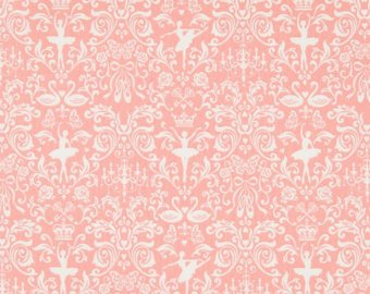 Ballerina cotton fabric by Cosmo AP55405-1B Pink