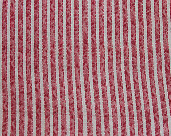 Penelope cotton fabric by Lakehouse Dry  Goods  LH10048pnk  Ribbon Stripe Pink