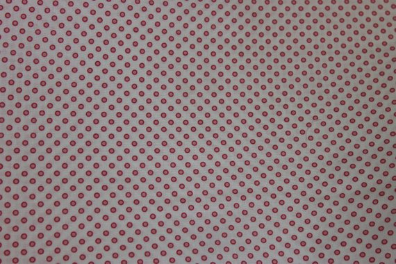 Ringed Dot cotton fabric by Lakehouse Dry  Goods Penelope LH11049petal