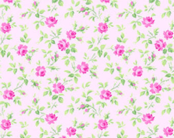 Sausalito Cottage  cotton fabric by Lakehouse Dry  lh13059pink