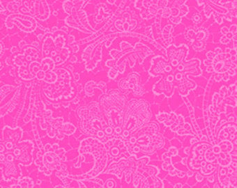 Sausalito Cottage  cotton fabric by Lakehouse Dry  lh13061raspberry