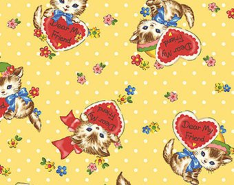 Little World cotton fabric by Quilt Gate LW1907-12C