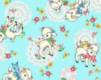 Little World cotton fabric by Quilt Gate LW1909-13D  Bambino