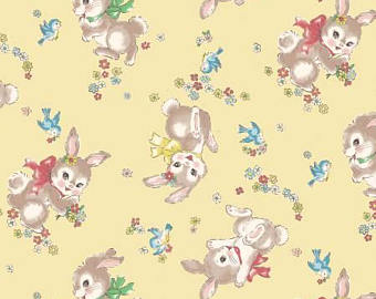 Little World cotton fabric by Quilt Gate LW1970-12C