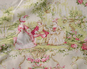 Mary Rose Toile cotton fabric by Quilt Gate MR1100-11a